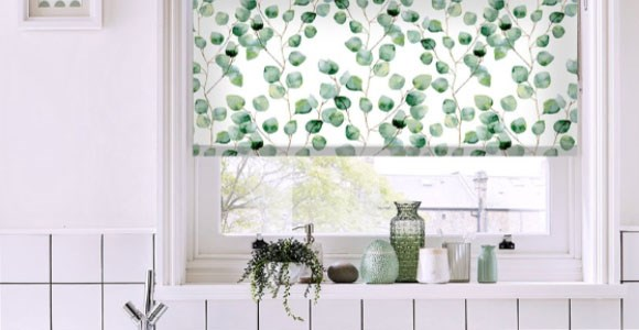 Bring the outside in with our exclusive range of beautiful botanical roller blinds