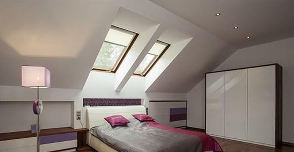 Custom Skylight Blinds for custom made skylight windows and openings.