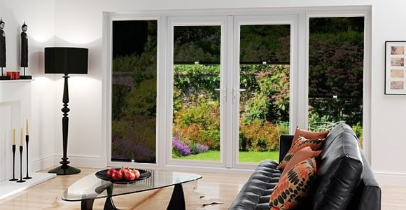 A collection of Perfect Fit roller blinds in sunscreen fabric to prevent glare and UV damage