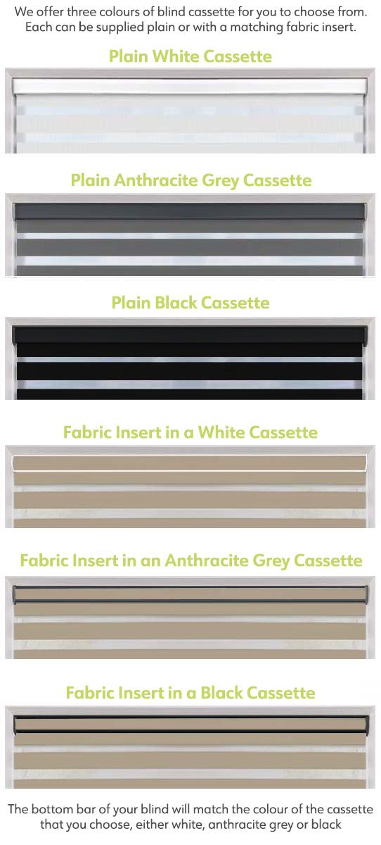 Day & Night Cassette Options