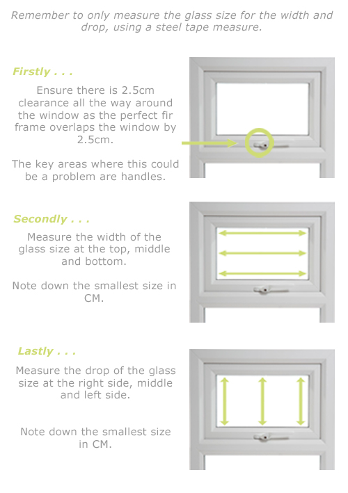 How to Measure for perfect fit blinds