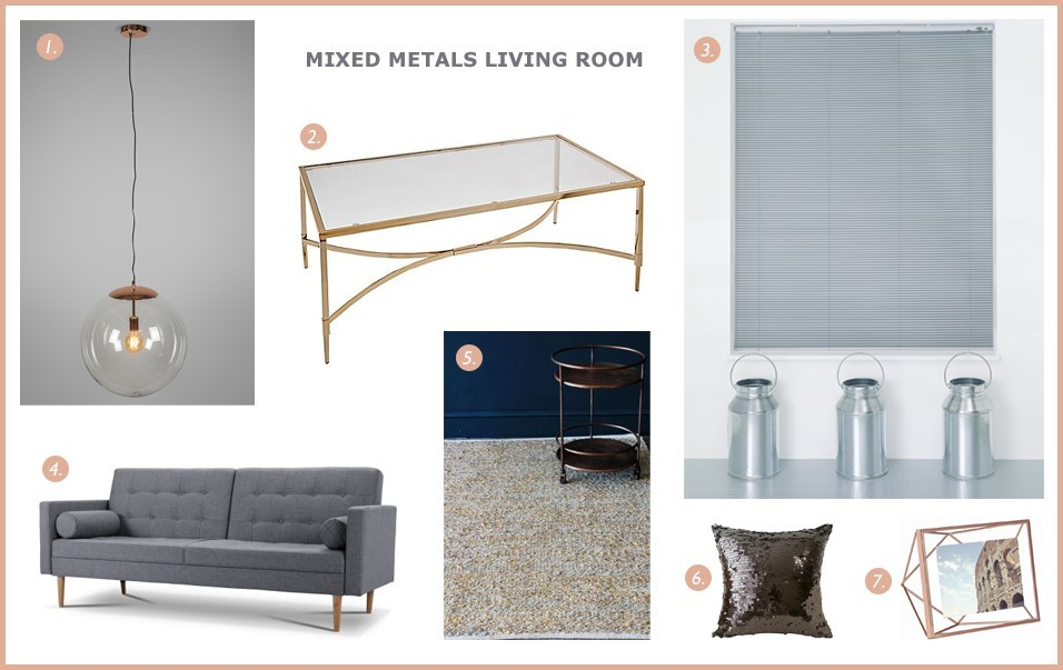 Order Blinds Loves...mixed metals trend 2016