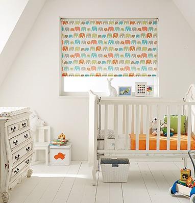 Blackout blinds for nurseries