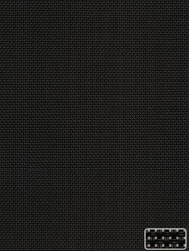Black 3% Openness Sunscreen Roller Blind
