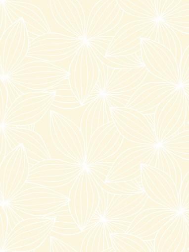 Starflower Cream Roman Blind