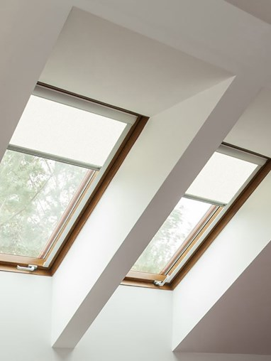 Classic White Blackout Skylight Blind To Fit RoofLite Windows