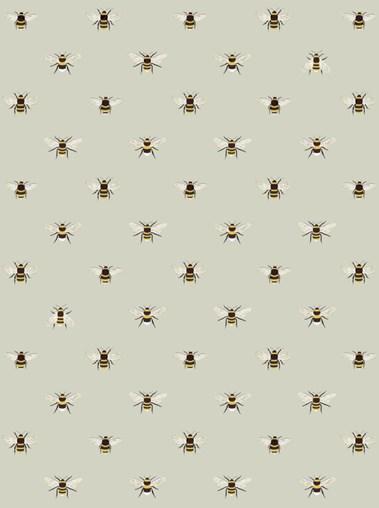 Sophie Allport Bees Roman Blind