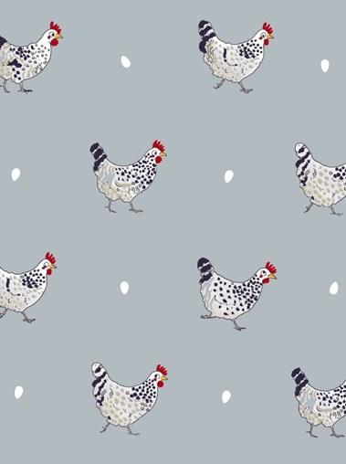Sophie Allport Chicken Roman Blind