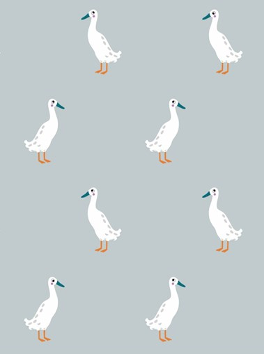 Sophie Allport Runner Duck Roman Blind
