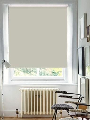 Serene Grey Blackout Thermal Roller Blind
