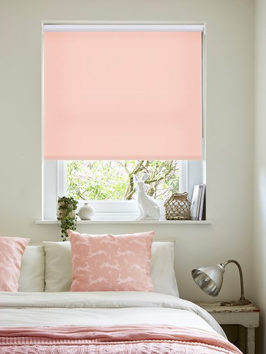 Daylight Begonia No Drill Roller Blind