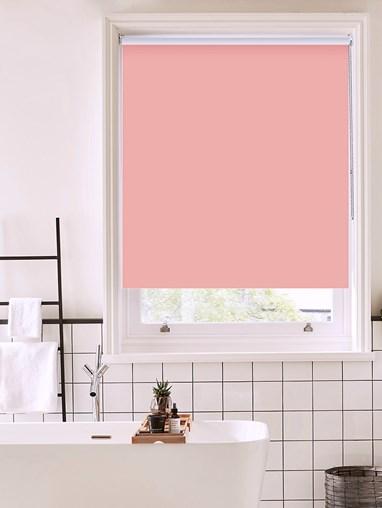 Begonia Bathroom Roller Blind