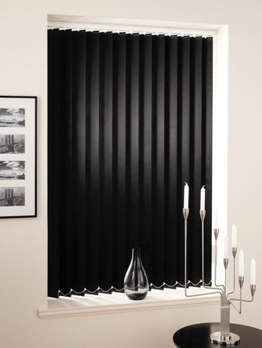Black 89mm Daylight Vertical Blind
