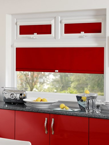 Blackout Pepper Perfect Fit Roller Blind