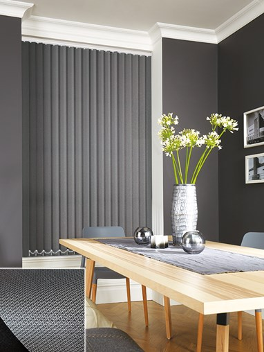 Mecha Grey Daylight 89mm Vertical Blind Replacement Slats