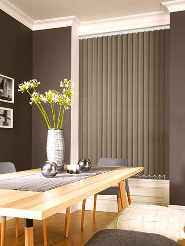 Taupe 89mm Daylight Vertical Blind