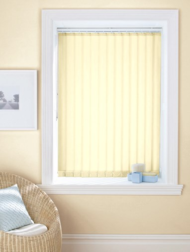 Cream 89mm Daylight Vertical Blind
