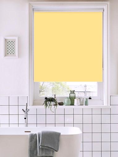 Cream Tea Bathroom Roller Blind