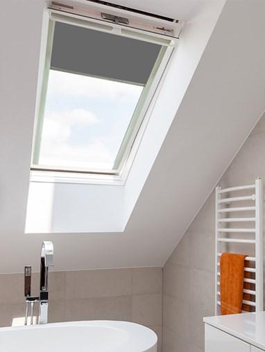 Classic Iron Mountain Blackout Skylight Blind To Fit Dakstra Windows