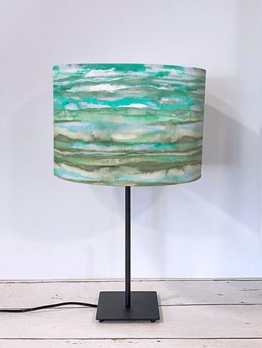 Aquarelle Aqua Lampshade