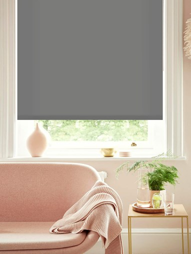 African Grey Roller Blind by Boon & Blake