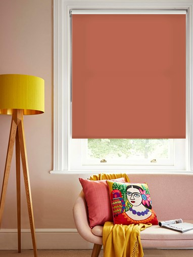 Coral Roller Blind by Boon & Blake