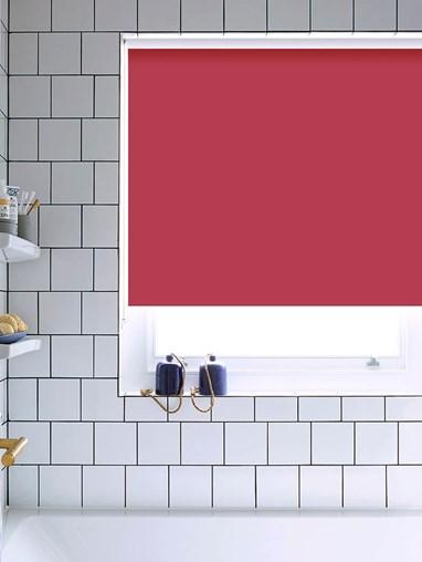 Hibiscus Bathroom Roller Blind