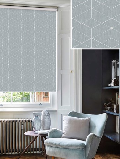 Illusion Pebble Roller Blind
