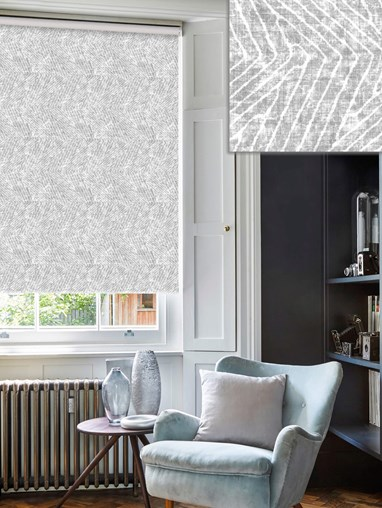 Linear Luxe Stone Roller Blind