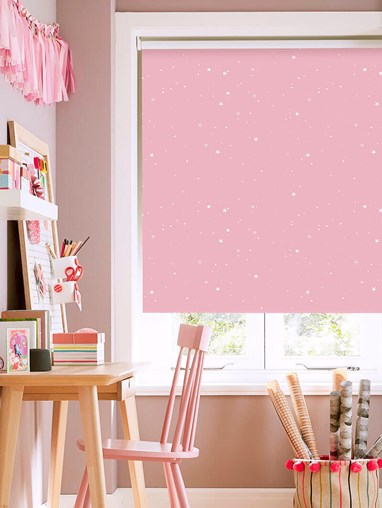 Starry Night Candy Blackout Roller Blind