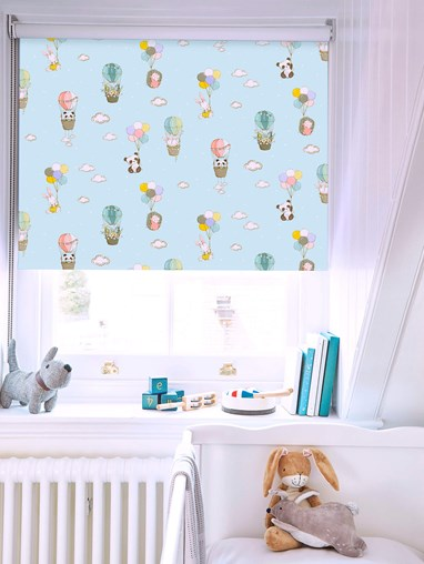 Up Up and Away Blackout Roller Blind