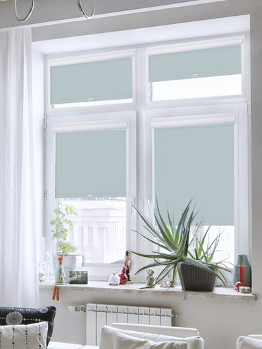 Daylight Garden Path Grey Perfect Fit Roller Blind