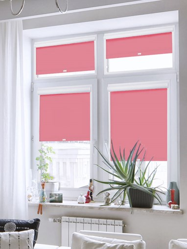 Daylight Hibiscus Perfect Fit Roller Blind