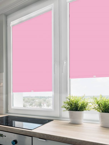 Daylight Hollyhock Perfect Fit Roller Blind