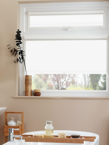 Daylight Jasmine White Perfect Fit Roller Blind
