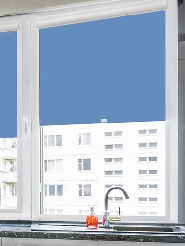 Daylight Larkspur Perfect Fit Roller Blind
