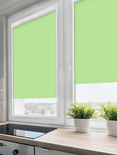 Daylight Stem Green Perfect Fit Roller Blind