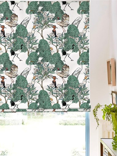 Oleander Natural Roman Blind by Boon & Blake