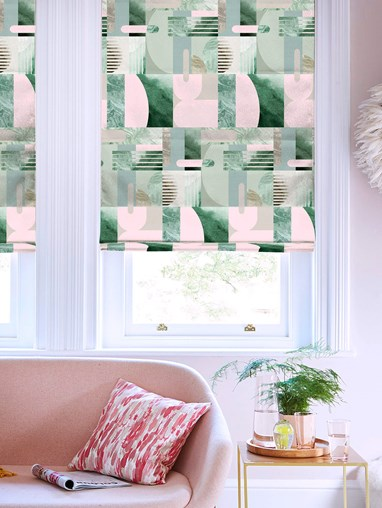 Connect Forest Roman Blind