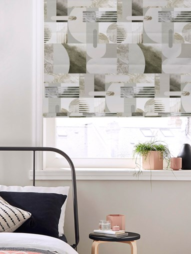 Connect Grey Roman Blind