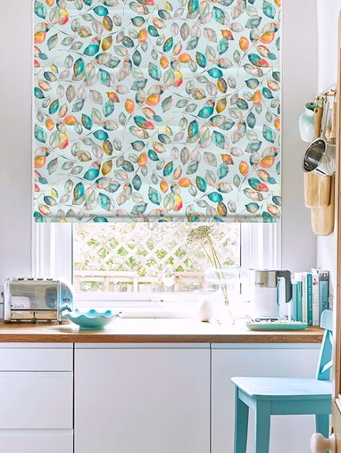 Tranquility Sky Roman Blind