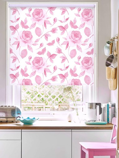 A Rose Like This Floral Roller Blind
