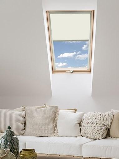 Classic Ivory Blackout Skylight Blind For Fakro Windows