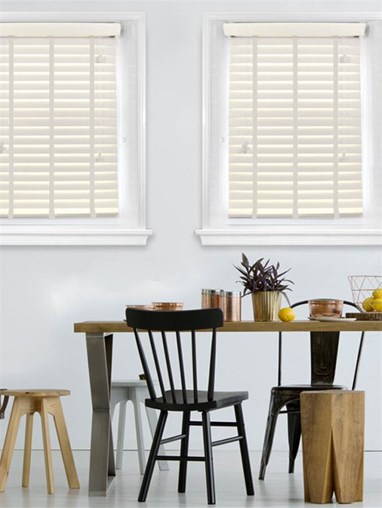 Lace Woodgrain Faux Wood Venetian Blind With Cloud Tapes