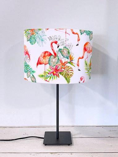 Flamingo Tropics Bright Lampshade