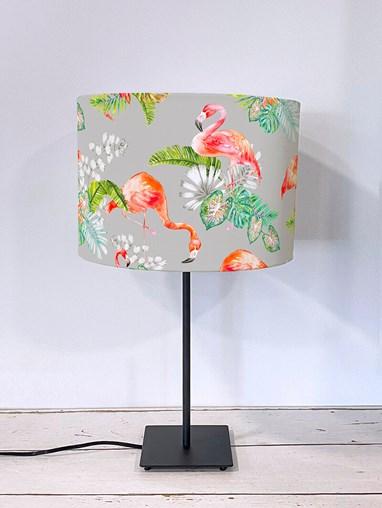 Flamingo Tropics Stone Lampshade