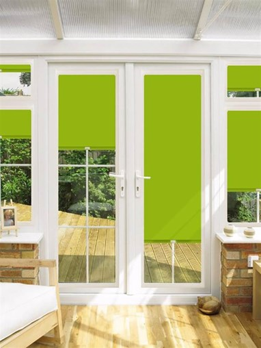 Blackout Fuji Perfect Fit Roller Blind for Doors