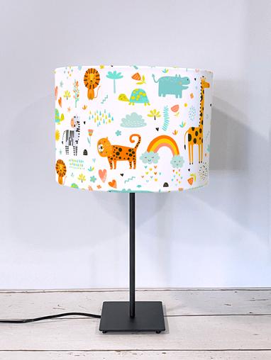 Happy Jungle Tangerine Lampshade
