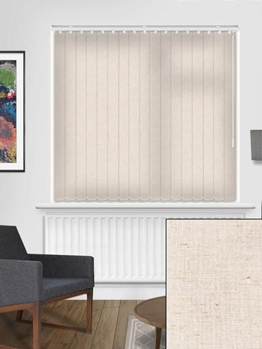 Midsummer Linen 89mm Dim-Out Vertical Blind