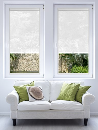 Lace White 3% Sunscreen Perfect Fit Roller Blind